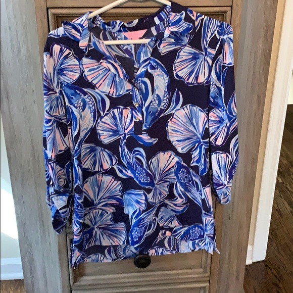 Lilly Pulitzer Tops - Nwt Lilly Pulitzer Everglades Top Xs